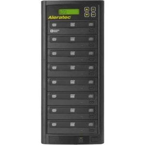 Aleratec 1:7 DVD/CD Copy Tower Duplicator - Standalone - DVD-ROM, DVD-Writer - 22x DVD+R, 22x DVD-R, 8x DVD+R, 8x DVD-R, 48x CD-R - 8x DVD+RW, 6x DVD-RW, 32x CD-RW - 260182