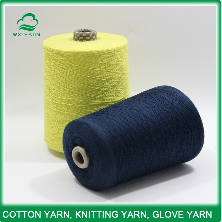 Open end Polyester/Cotton Blended yarn, CVC TC 65/35