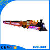 Electric mini train touring car park rides trackless train/track train for shopping mall