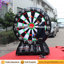Mini PVC tarpaulin inflatable golf dart game Sport Game Hire