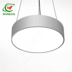 LED Pendant Light Indoor Office 1.5 Meters Hanging Wire LED Gym Light