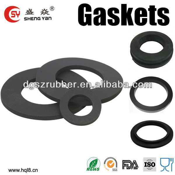 China factory supply custom silicone rubber seal gaskets,rubber gaskets,EPDM gasket