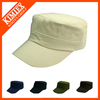 OEM Flat Top Military Cap and Army Hat with Logo