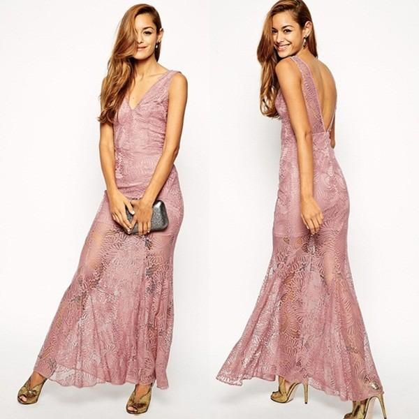 hecho en china el ltimo cordn vestidos de cola de pescado de encaje maxi evening dresses