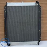 PC200-7 spare parts 20Y-03-31111 excavator radiator water tank
