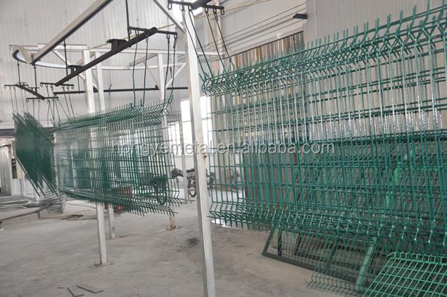 Short Metal Garden Fence/ Galvanized Sheet Metal Fence Panel/ Low Garden  Border Fence Metal