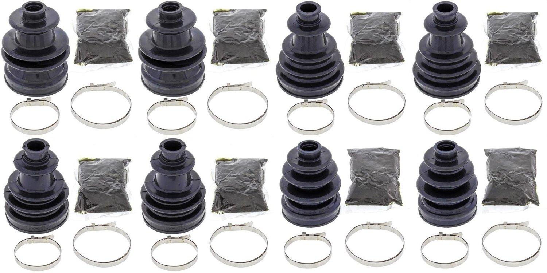 Complete Front & Rear Inner & Outer CV Boot Repair Kit for Polaris Ranger 4X4 900 Diesel Crew 2014 All Balls