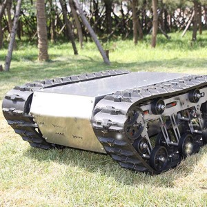 ZHONGYUN Robot Rubber Track Chassis For Sale