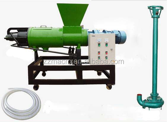 Widely Used Dung Dehydrator/pig Manure Organic Fertilizer Making Machine