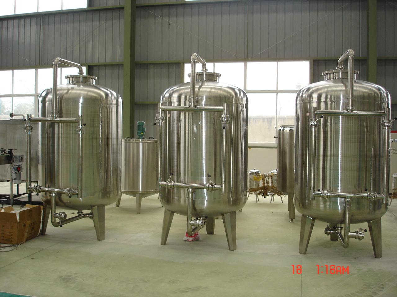 30T/H AUTOMATIC SODIUM ION EXCHANGER