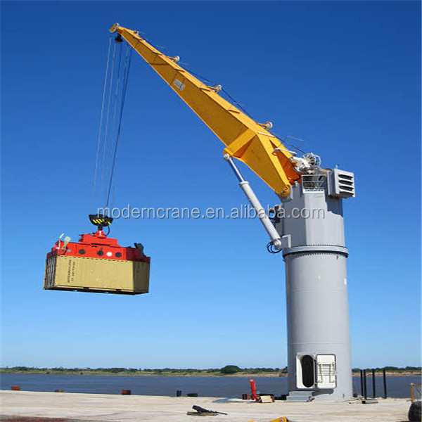Portable Hydraulic Jib Crane : Manufacture bz type remote control slewing portable ton