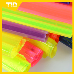 High light PVC material transparent reflective rolls 24C 21C 19C