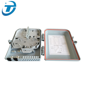 Pole Mount IP65 1*8 PLC Splitter 2 Port Fiber Optic Junction Box with Termination