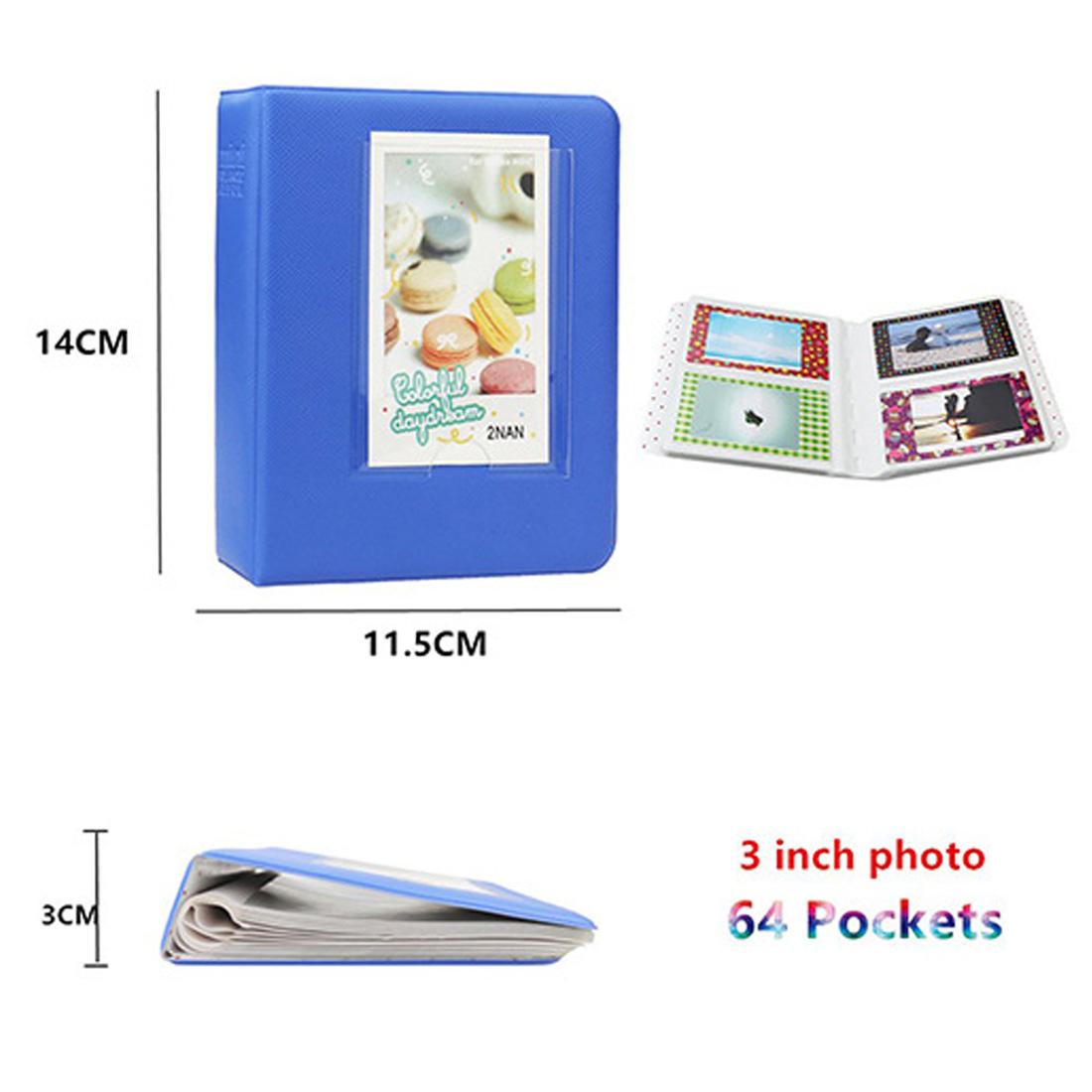 MINI Star Prints Polaroid Camera Camera Bag Pacote Digital Photo Package  para Fuji Polaroid MINI 8/9