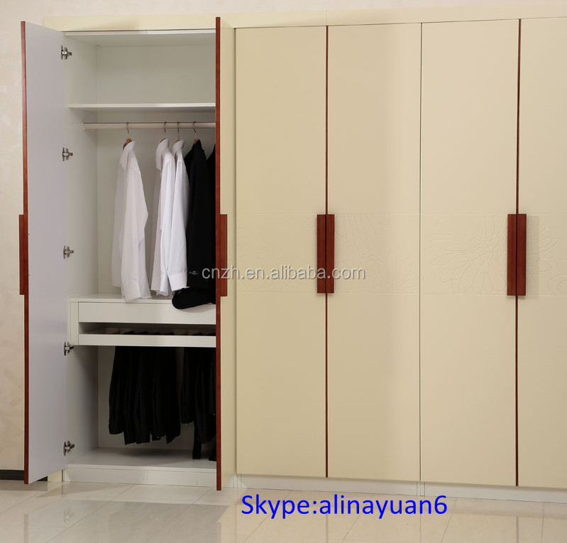 Fitted Wardrobe Closet,Wooden Cloth Wardrobe Cabinet