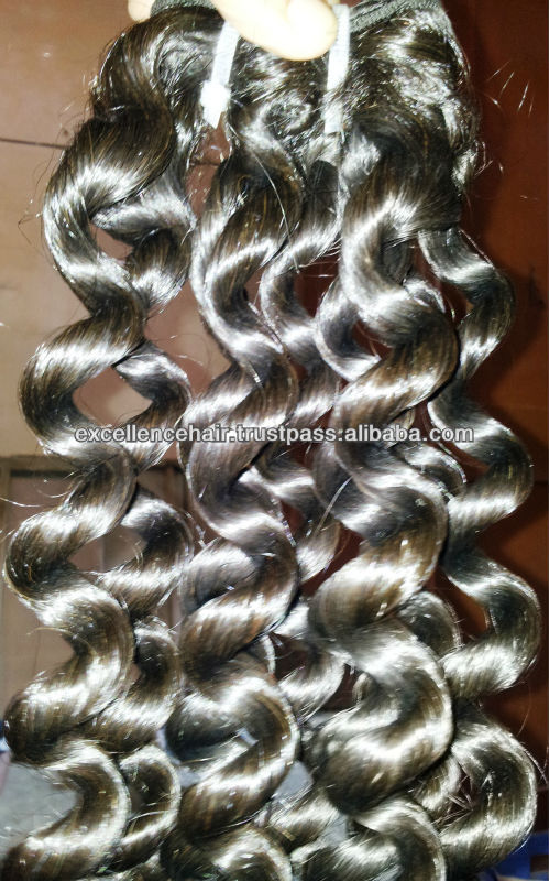 Indian Human High Quality Unprocessed Virgin Hair, Raw Indian Temple Hair,7A grade Indian Human Hair