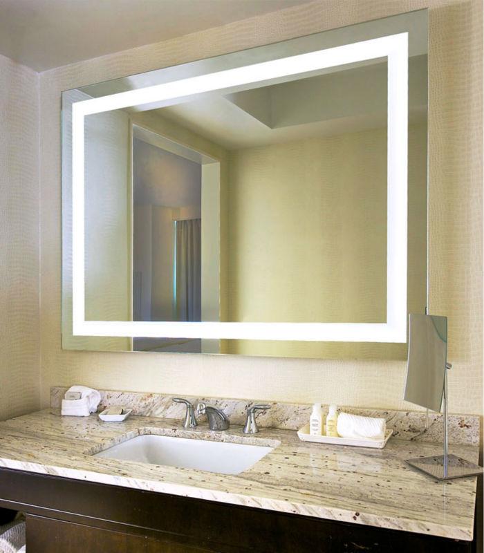 Calidad superior de iluminaci n espejo de tocador espejo - Iluminacion espejos de bano ...