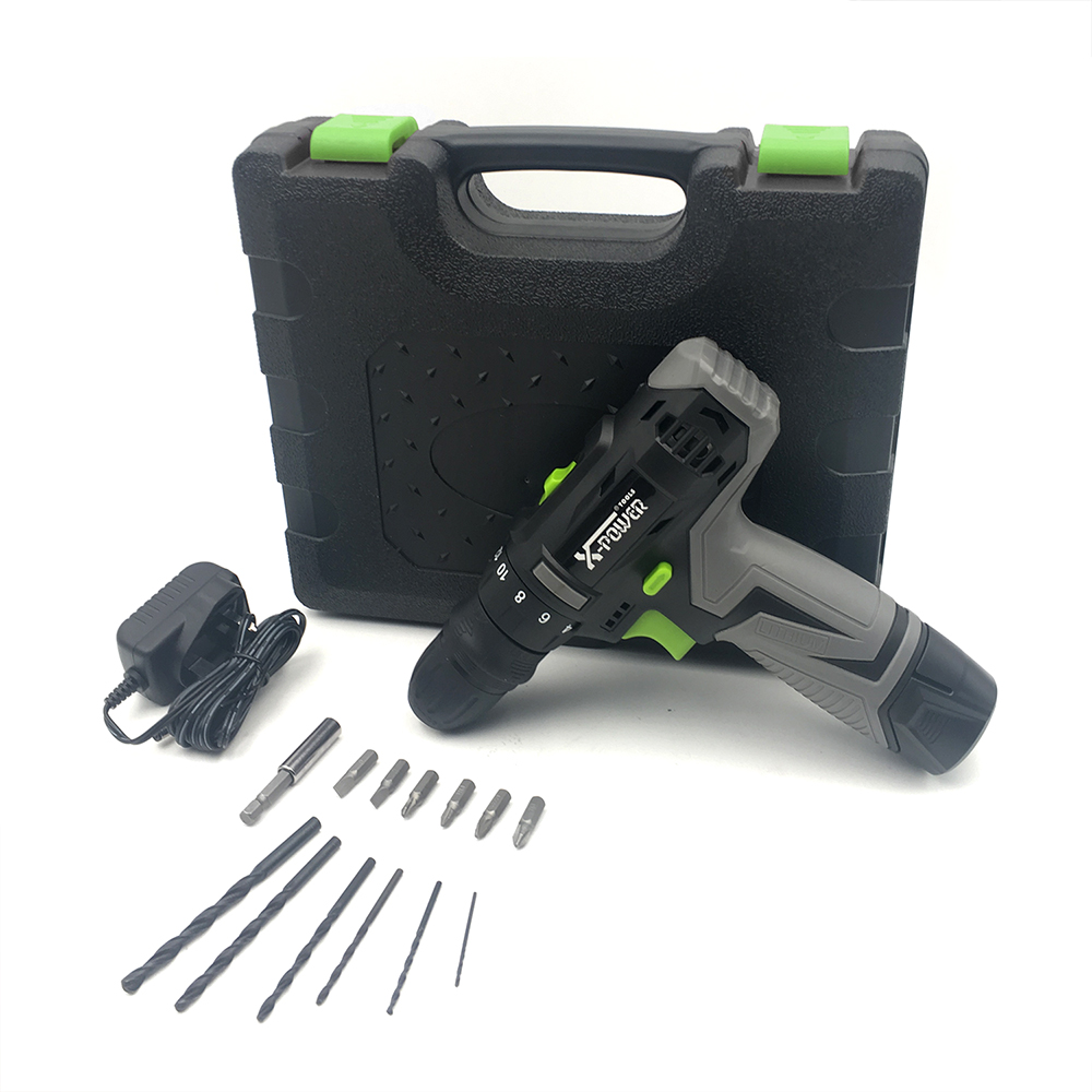 KCD322B-C14PCS 2 IN 1 cordless <strong>drill</strong> 12v and cordless screwdriver combo