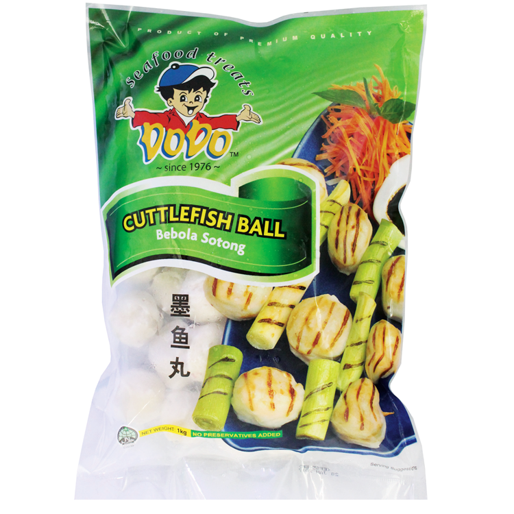 Wholesale Singapore DODO Food Cuttlefish Ball