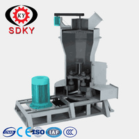 fully automatic gypsum powder line with boiling furnace high quality
