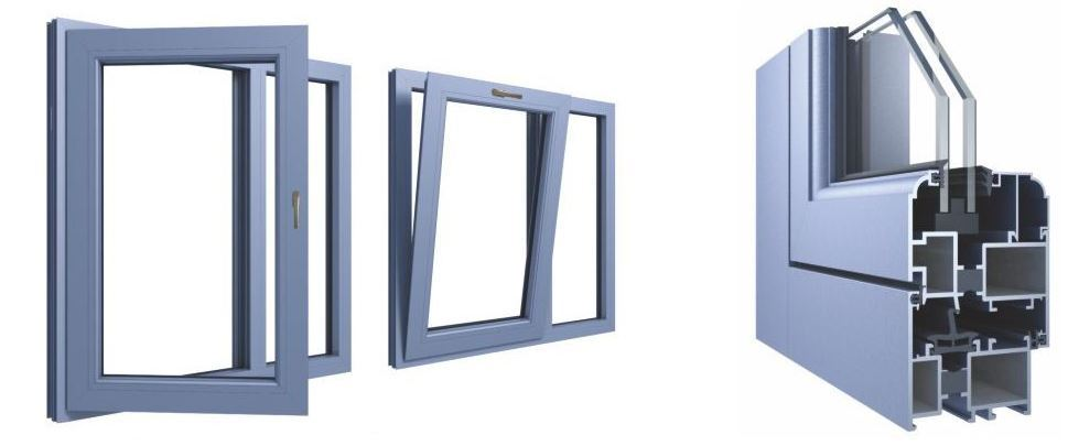 60 Series Tilt & Turn Windows