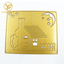 Custom craft with high quality metal stencil craft cutting dies