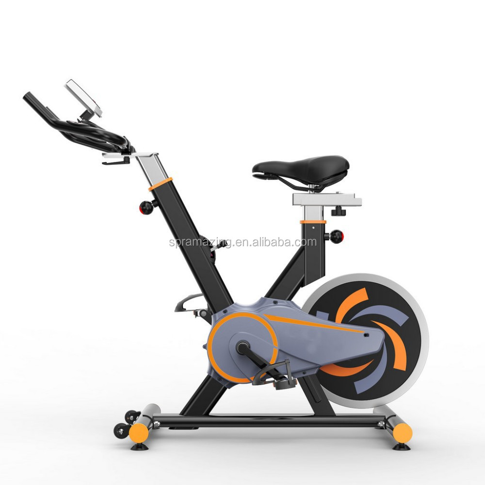 AMA-611 Commercial spinning bike with 8.5KGS of flywheel Body fit cardio machine