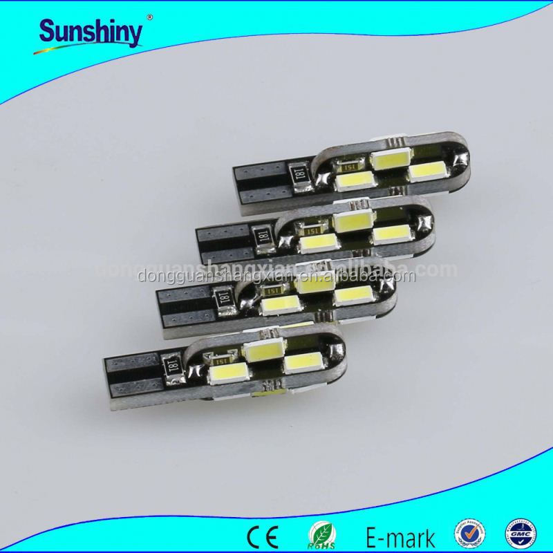 High quality discount auto parts T10 3014 smd led bulbs, ultra bright 12v 36leds amber,white,yellow,green,blue for parking light
