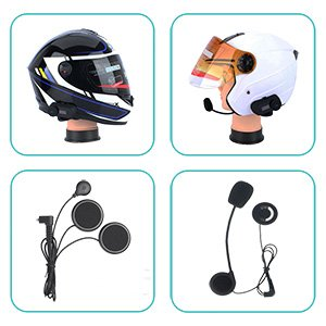 LED screen 3 riders 800M motorcycle blue tooth intercom headset for bicycle