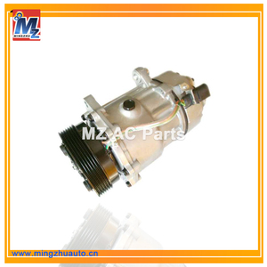 Sanden 1215 Car AC Compressor Price Type: 7V16 For Skoda VW Compressor