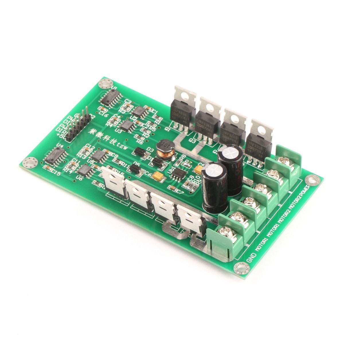 Cheap Mosfet Motor Driver Schematic Find Bldc Control Circuit Using Arduino Get Quotations Riorand Dc Smart Car Pwm Dual Controller Module Board H Bridge