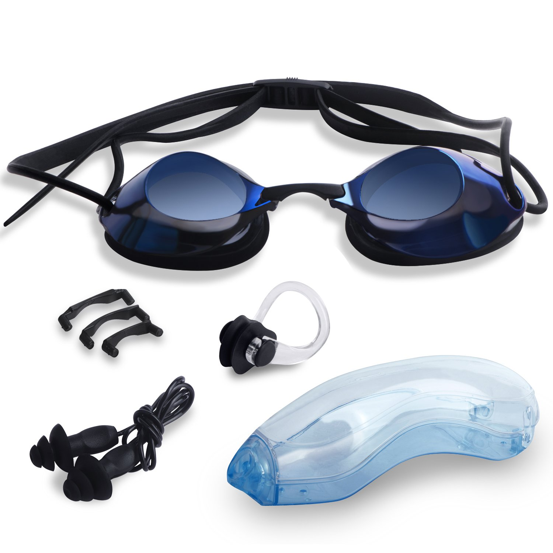 41bb481cc6bd Buy Swimate Swim Goggles --Racing Swim Goggles with Adjustable Nose ...