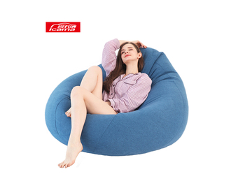 outdoor Bean Bag chair sofa fabric bean bag cover filling foam giant bean bag chairs bulk lazy sofa