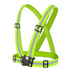 Wholesale High Visibility Reflective Safety Vest for Night Running or Cycling