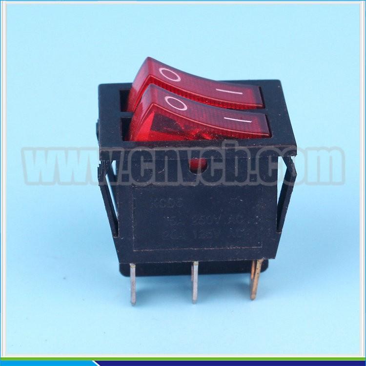 RS386 wippschalter schwarz auf off China hersteller licht 10A 250 V ...