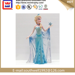 Elsa and Anna frozen resin SISTER figurine