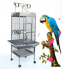 Bird Pet Budgie Canary Parrot Cage Aviary Wire Stand