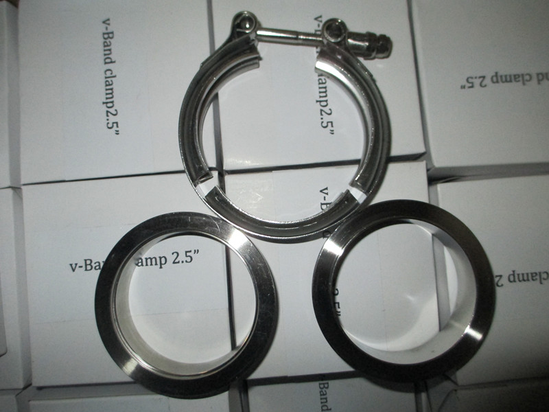 V Band Clamp male female flanges