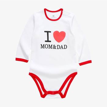 Wholesale bodysuit baby clothes romper 100% cotton