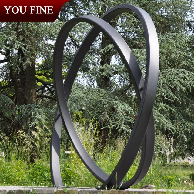 Contemporary City Large Garden Stainless Steel Sculptures Buy