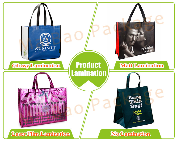 Custom Extra Large Black Printed Cheap Wholesale Promotional Reusable PP Non Woven Polypropylene Tote Bag