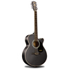 Andrew 40 inch shells edge students black guitar