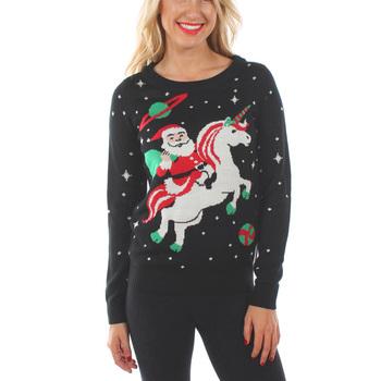 Woven New Design Beautiful Knitting Pattern Women Crew Neck Sweater