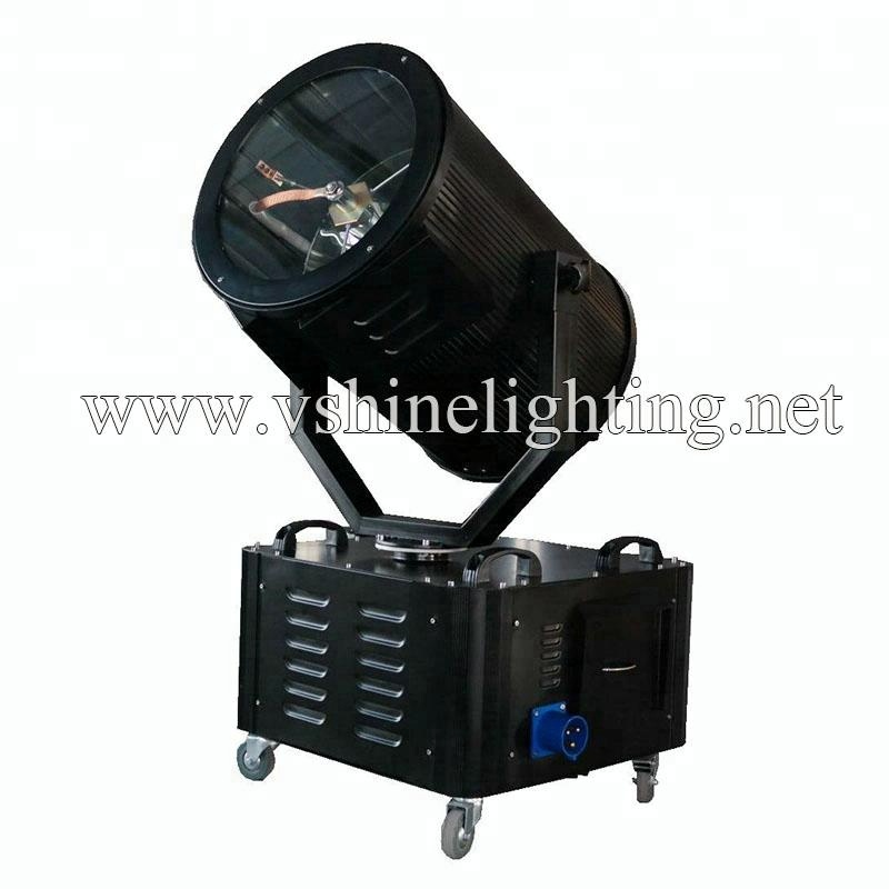 CMY moving head 2-5KW Sky searchlight outdoor laser projector sky beam light
