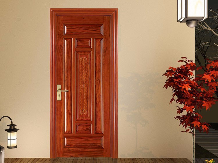 wholesale decorative carving 7 raised panel entry doors