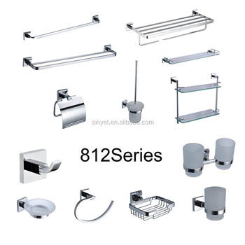 Kaiping High Quality Manufacture Br Bathroom Ings Wall Mounted Kitchen Bath Accessories