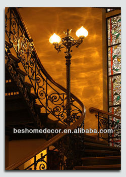 A Beautiful Staircase In Luxury Home Gifts Indian Wedding Gift Ideasfabric Painting Designs