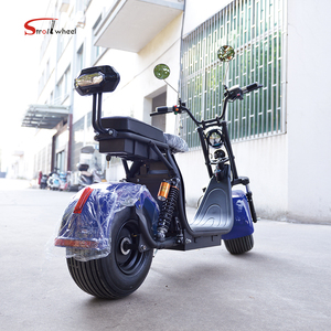 Adult electric scooter 1500W citycoco scooter electric motorcycle with DIY  options