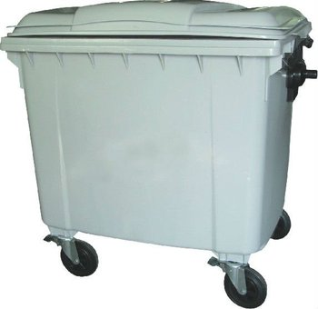 New Hdpe 1100l Plastic Waste Container