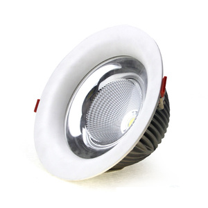 Chinese suppliers new design 30w dimmable cob led downlight recessed